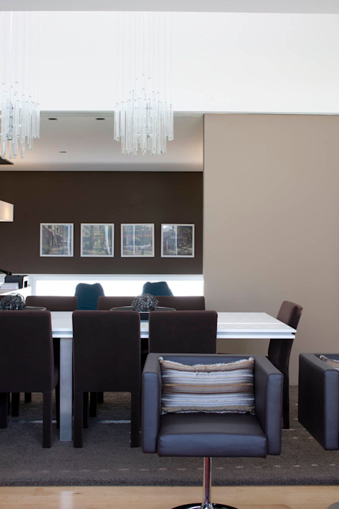 Sala - Vivenda em Famalicão - SHI Studio Interior Design ShiStudio Interior Design Sala de jantarAcessórios e decoração