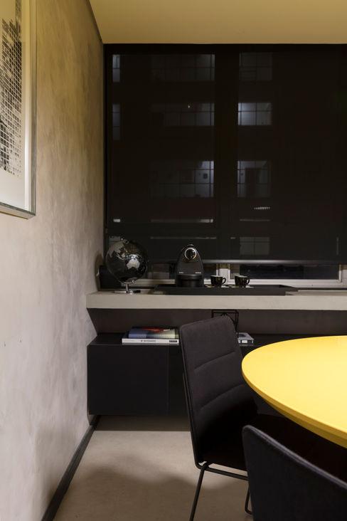 Sala de Reunião Semíramis Alice Arquitetura & Design Edifícios comerciais modernos
