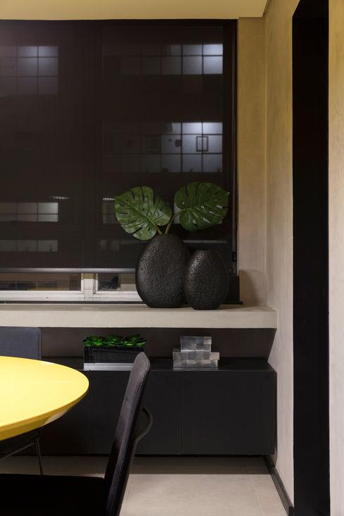 Sala de Reunião Semíramis Alice Arquitetura & Design Espaços comerciais modernos