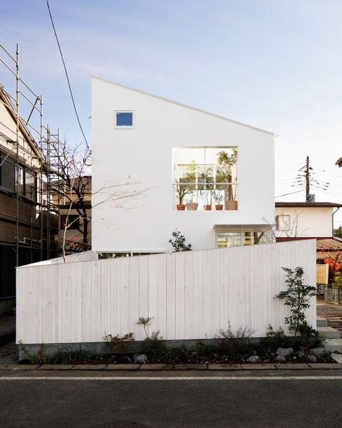 外観 前田工務店 木造住宅 木 白色