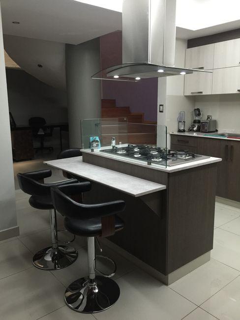 COCINA EN ARAUCO La Central Cocinas Integrales S.A de C.V CocinaAlmacenamiento y despensa