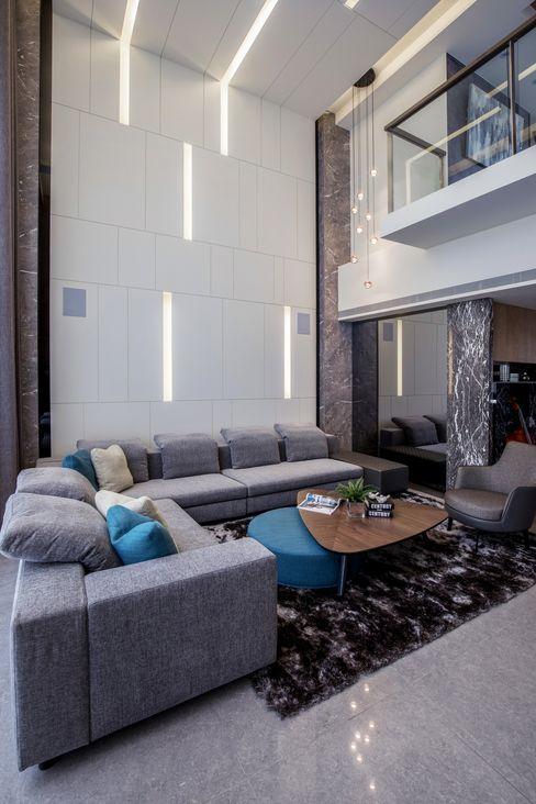 築青室內裝修有限公司 Modern Living Room