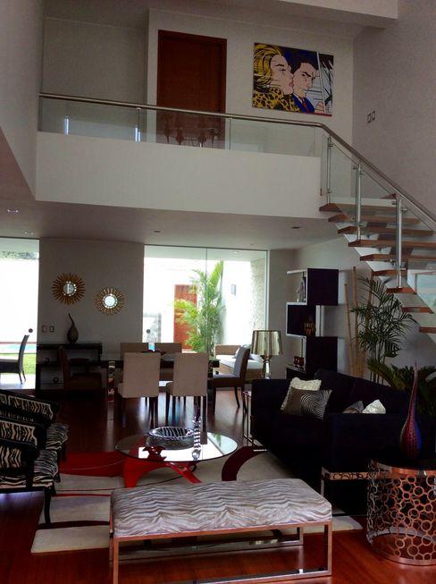 Doble Altura - Sala homify Salas modernas