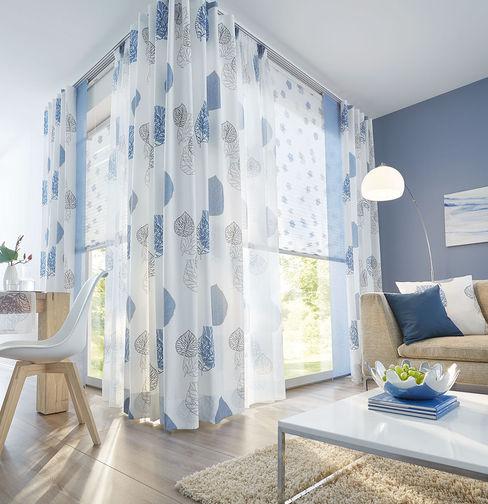 UNLAND International GmbH Windows & doors Window decoration Textile Blue