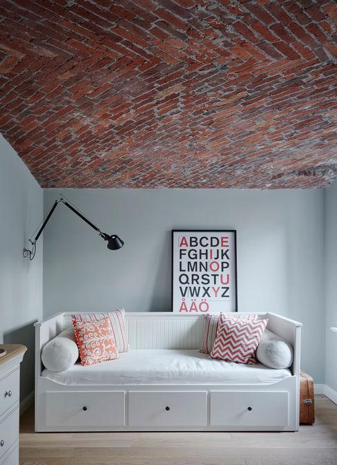 Umbau einer Stadtwohnung Anja Lehne interior design Industriale Schlafzimmer