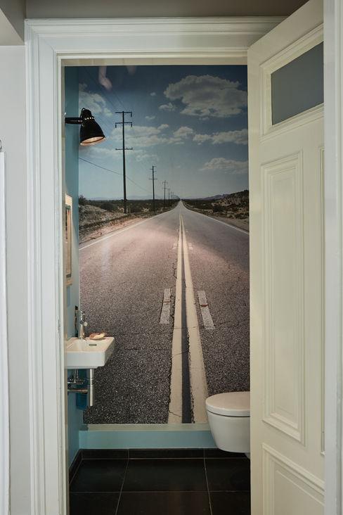 Umbau einer Stadtwohnung Anja Lehne interior design Industriale Badezimmer