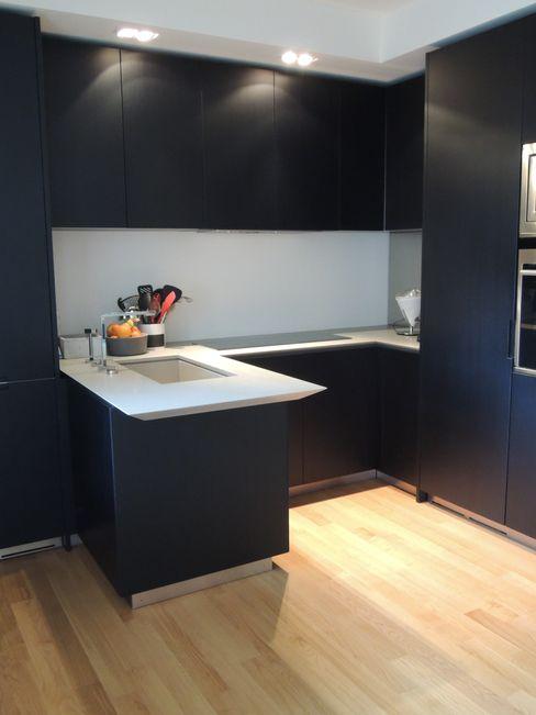 13FG Chantal Forzatti architetto Cucina attrezzata Nero