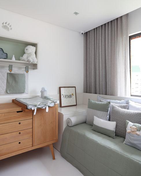 Start Arquitetura Baby room Green