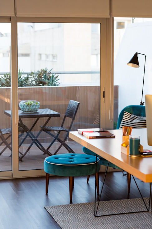 Escritório piso 1 ShiStudio Interior Design EscritórioAcessórios e decoração