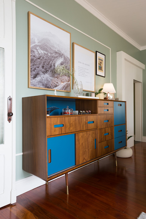 Aparador Teté, produto Loloca - Projeto de interiores Shi Studio - Matosinhos, Porto ShiStudio Interior Design Sala de estarArmários e arrumação