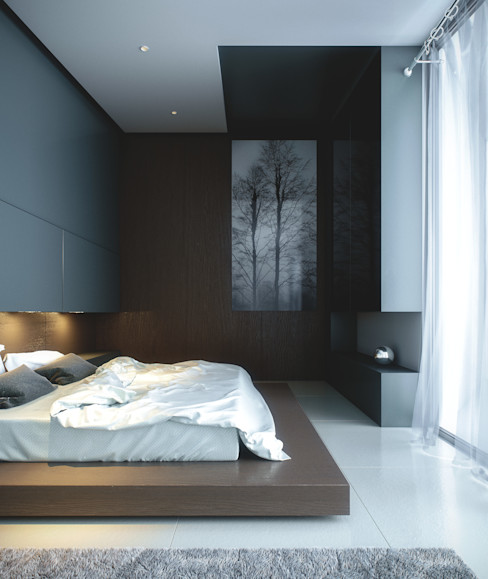 CIC ARQUITECTOS Modern style bedroom