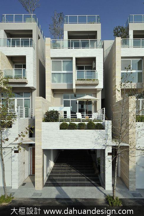 大桓設計顧問有限公司 Moderne Häuser Marmor Weiß