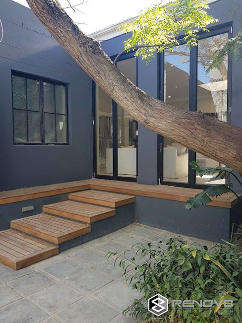 Completed Courtyard Renov8 CONSTRUCTION