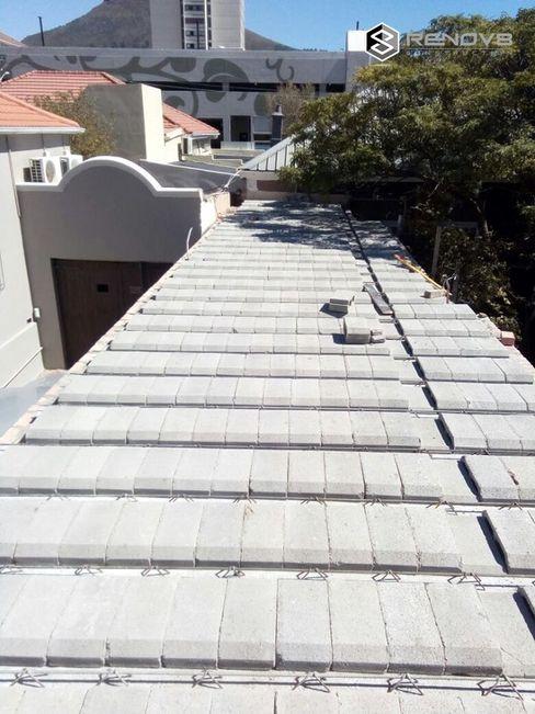 Roof - interlinking buildings Renov8 CONSTRUCTION