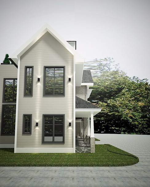 Lighthouse Architect Indonesia Casas de estilo rural