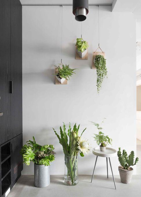 文儀室內裝修設計有限公司 Modern corridor, hallway & stairs
