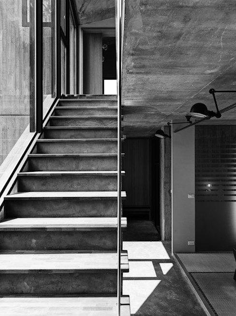 關西杜宅 形構設計 Morpho-Design 樓梯
