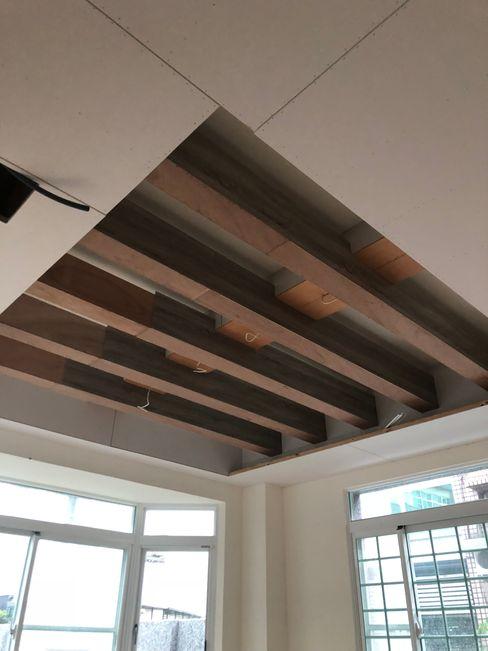 室內裝修施工 艾莉森 空間設計 Kitchen units Wood Multicolored