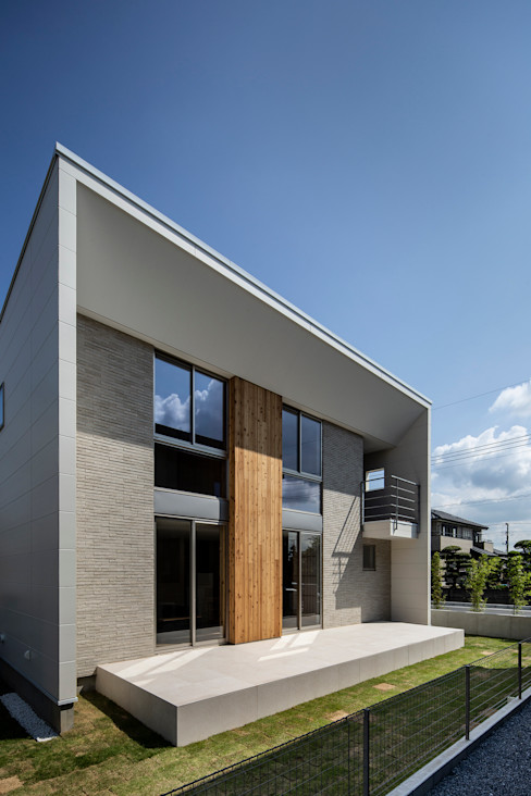 松岡淳建築設計事務所 現代房屋設計點子、靈感 & 圖片