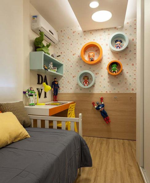 Dormitório Infantil– Novo Higienópolis I INOVA Arquitetura Quartos dos meninos