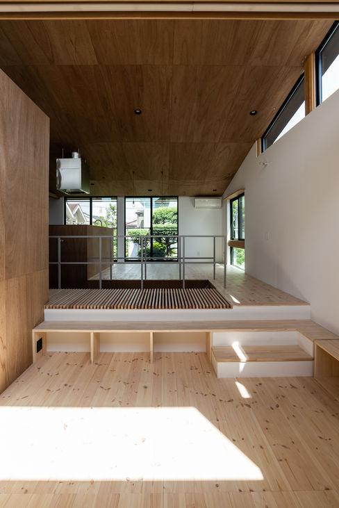 SAIWAIの家 株式会社 N&C一級建築士事務所 オリジナルデザインの リビング