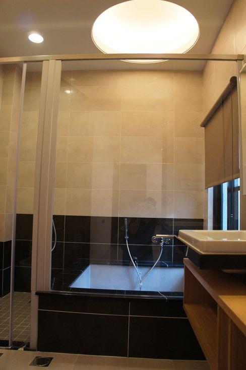 1F泡湯池 houseda 浴室 磁磚 Black