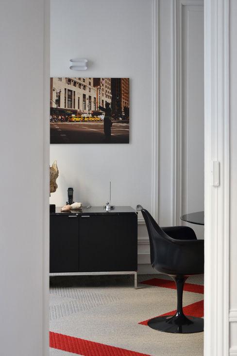 Cabinet d'avocats - Salle de réunion A comme Archi Espaces de bureaux modernes
