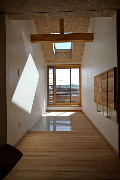 ランドリールーム 株式会社高野設計工房 北欧スタイルの 温室