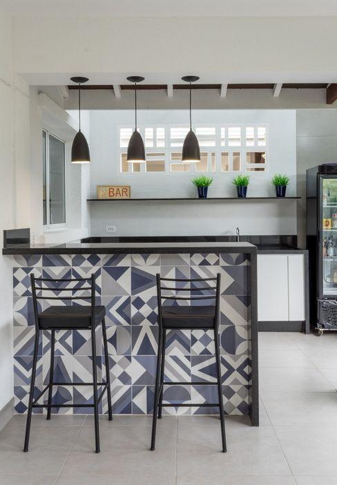 Varanda Gourmet - Depois Tatiane Corcini Arquitetura e Interiores Varandas