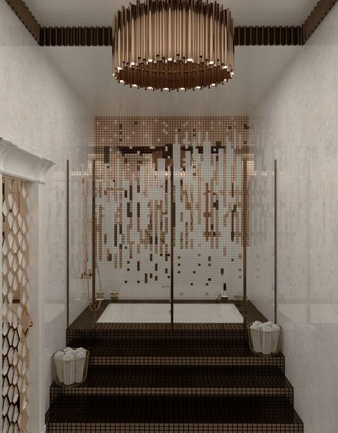 Татьяна Третьякова - дизайнер интерьера Phòng tắm phong cách kinh điển