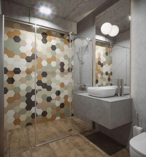 LIGHTHOUSE ANARCHY DESIGN Ванная комната в стиле минимализм
