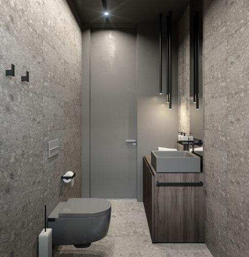 PARALLEL ANARCHY DESIGN Ванная комната в стиле минимализм