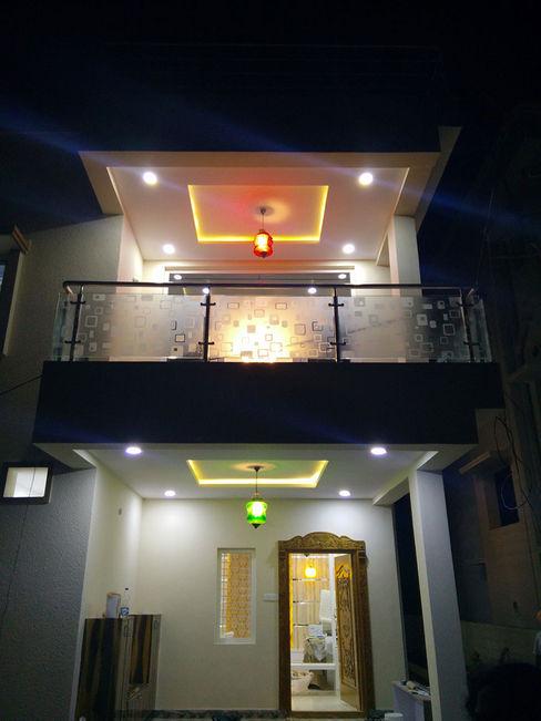 Mr Ravi Kumar PVR Meadows 3BHK Villa Enrich Interiors & Decors Interior landscaping