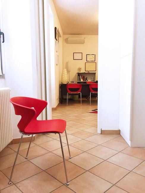 Sala d'aspetto Daniele Piazzola architetto e designer a Como Cliniche moderne