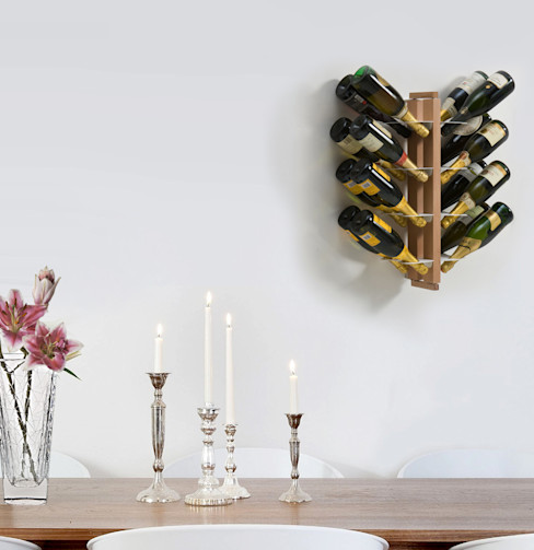Le zie di Milano Dining roomWine racks Solid Wood