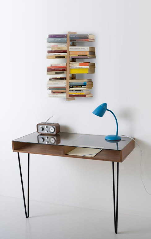 The exaggerated Zia Bice Le zie di Milano Study/officeCupboards & shelving Wood