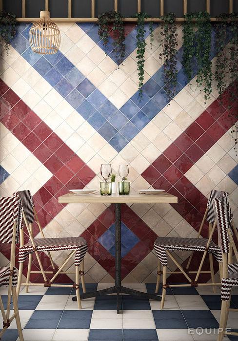 Equipe Ceramicas Patios & Decks Ceramic Multicolored