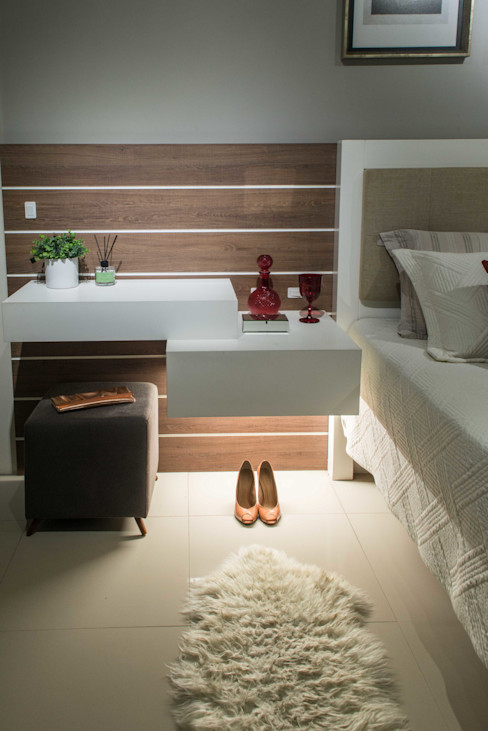 Revisite Modern Bedroom Concrete Grey