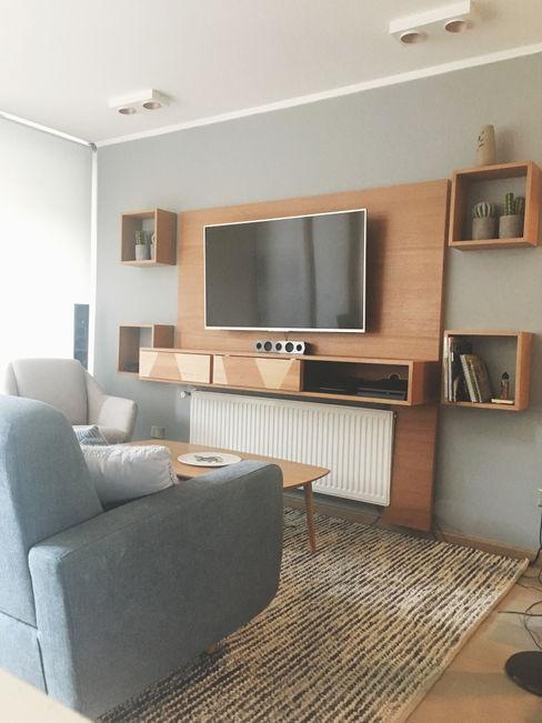 Living - Despues MM Design Livings de estilo escandinavo