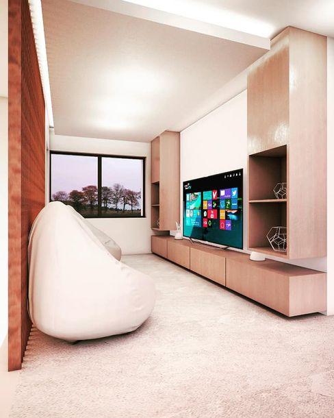 Casa MC gb arquitecto Dormitorios modernos
