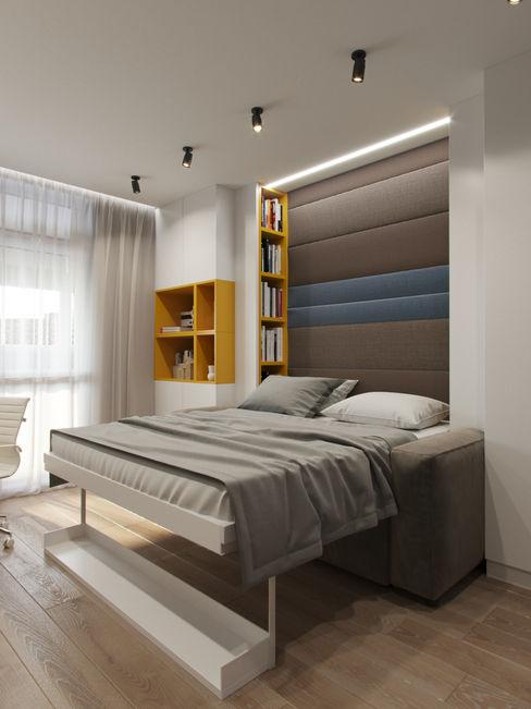 Детская в современном стиле Дизайн-мастерская 'GENESIS' Спальни для девочек