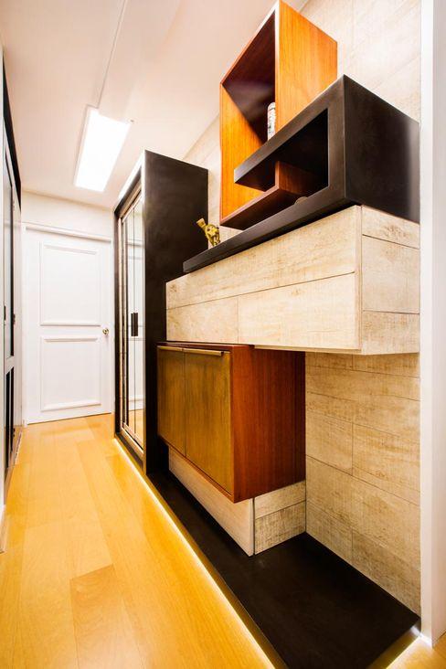 WeisCoello Arquitectos Pasillos, vestíbulos y escaleras modernos