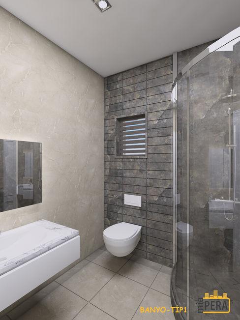 Miapera MİMARLIK Interior landscaping Marble Grey