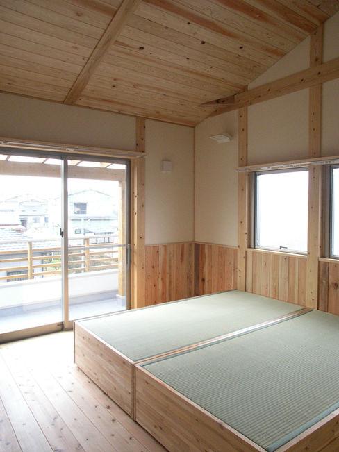 寝室 山下建築研究所 モダンスタイルの寝室