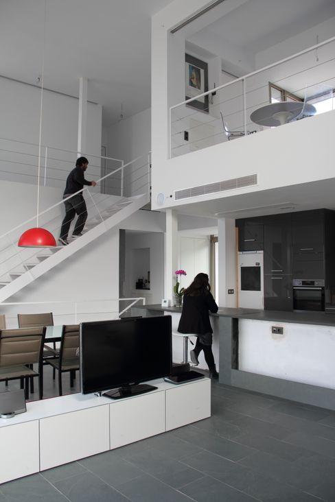 Estudio1403, COOP.V. Arquitectos en Valencia Modern living room