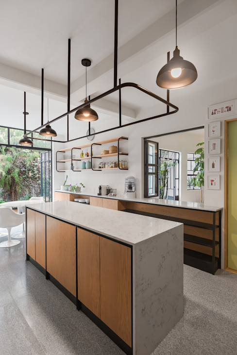 casa milton estudio atemporal Cocinas modernas
