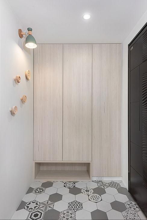 知域設計 Scandinavian style corridor, hallway& stairs