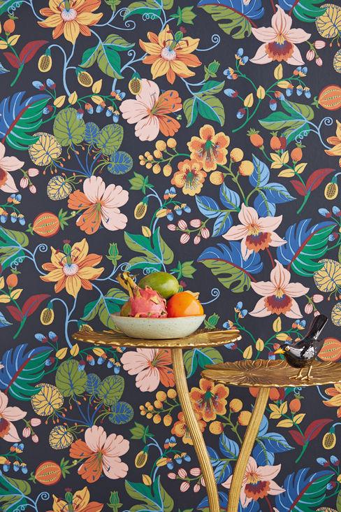 TapetenStudio.de Tropical walls & floors Multicolored