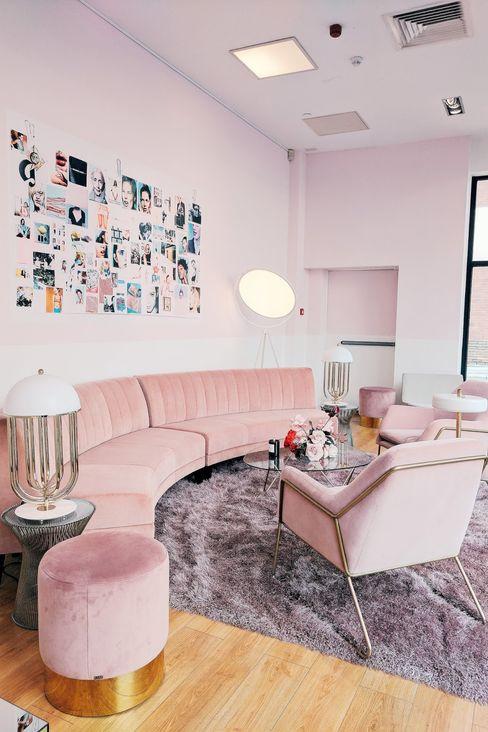Pink Spot, Londres DelightFULL Lojas e Espaços comerciais modernos Cobre/Bronze/Latão Branco