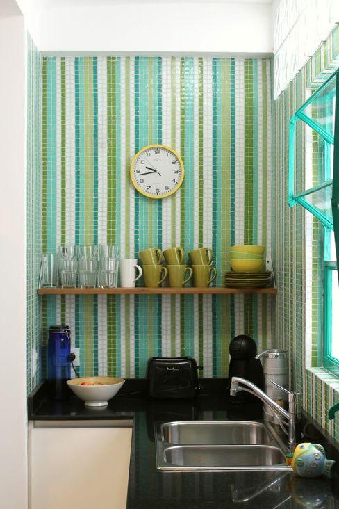 Cocina en Villa Devoto Compañía de Mosaicos Cocinas modernas: Ideas, imágenes y decoración